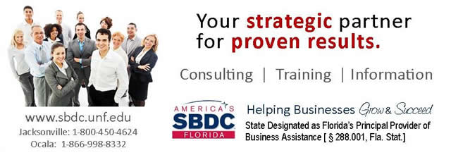 America's SBDC Florida - Your strategic partner for proven results