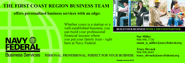 Navy Federal Business Services The First Coast Region Business Team Banner